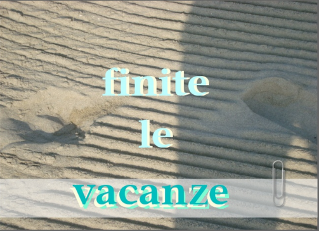 vacanzeFinite